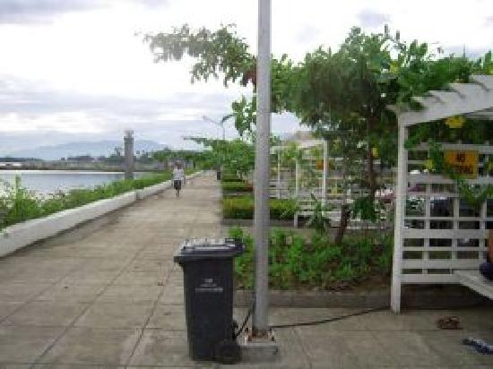 Davao City, Filippine: Baywalk in 2008