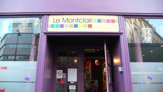 Le Montclair Hostel: entrata
