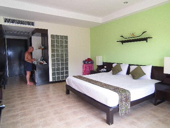 Krabi La Playa Resort: Lovely room 318