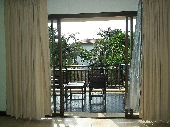 Krabi La Playa Resort: Balcony