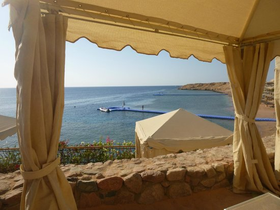 The Royal Savoy Sharm El Sheikh: lovely view from the private cliff top area