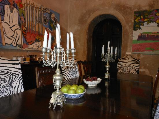 Villa Herencia: Dining area