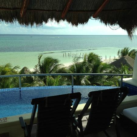 El Dorado Maroma, a Beachfront Resort, by Karisma : View from our window