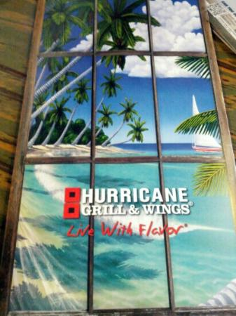 Hurricane Grill & Wings: Menu cover