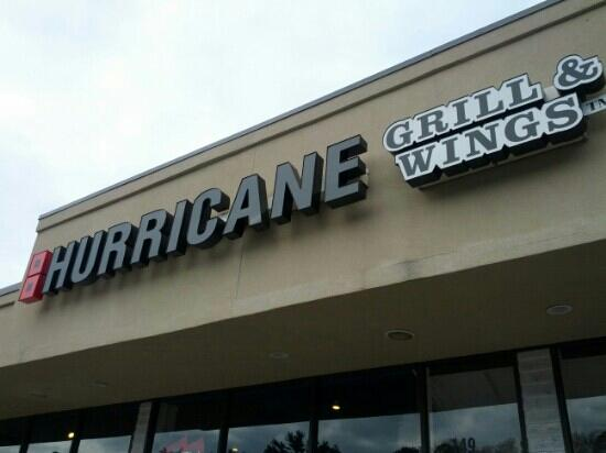 Hurricane Grill & Wings: Outside signage