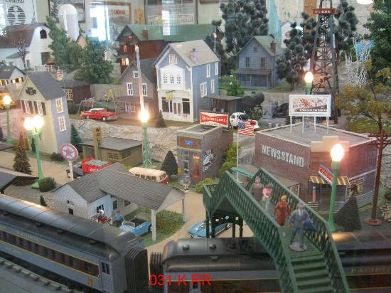 Kankakee Railroad Museum: Railroad Layout