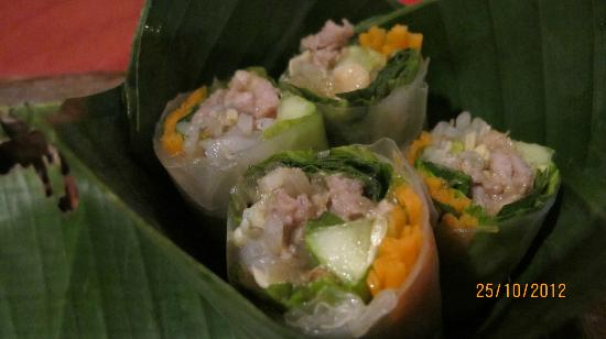 Traditional Khmer Food Restaurant: roll