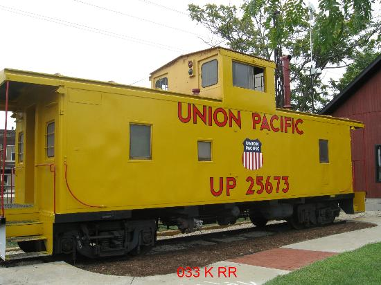 Kankakee Railroad Museum: Museum Caboose
