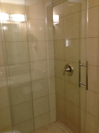Crowne Plaza Boston Woburn: shower with a twist 