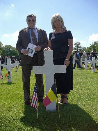Ardennes American Cemetery and Memorial : Souvenir de la cérémonie de mai 2010