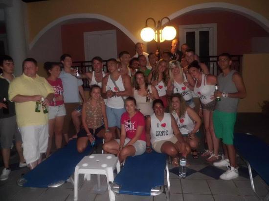 Hera Zakynthos Hotel: All of us at the hotel