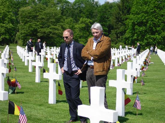Ardennes American Cemetery and Memorial : Un lieu de rencontres et de receueillement