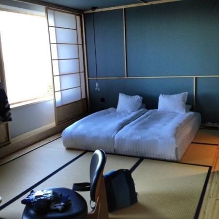 Yasuragi: stort sovrum