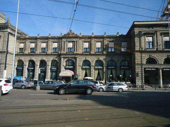Hauptbahnhof: Side of the main building
