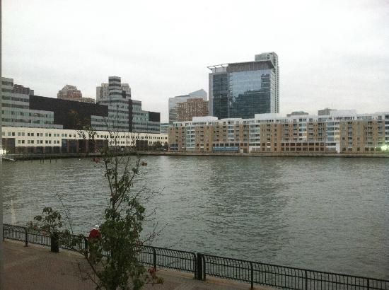 Hyatt Regency Jersey City: View from hotel room