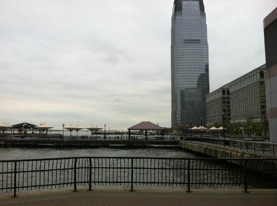 Hyatt Regency Jersey City: View from hotel of the Goldman Sachs building in Jersey City