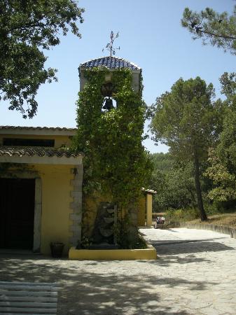 Mas de Madalena: Una pequeña capilla del hotel