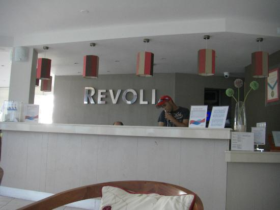 Hotel Revoli: Reception area