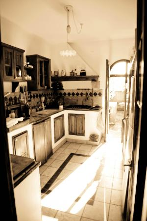 Florence La Paggeria B&B: Kitchen