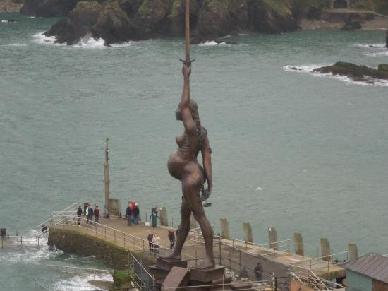 Ilfracombe, UK : View from St Nicholas' Church