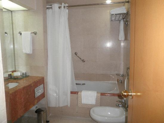 Crowne Plaza Abu Dhabi: Bath Tub