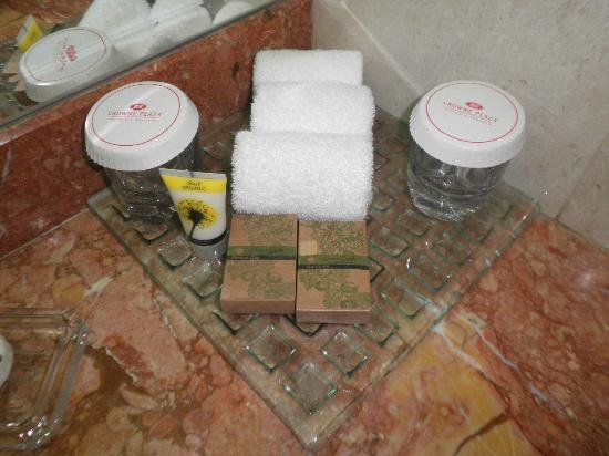 Crowne Plaza Abu Dhabi: Nice Amenities
