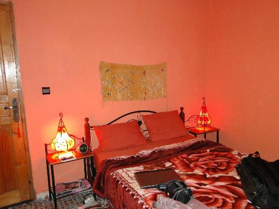 Maison d' Hotes de la Cite Portugaise d'El Jadida : Chambre Saumon