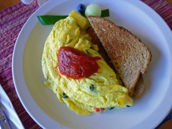 Poipu Plantation Resort: Different yummy breakfast every day