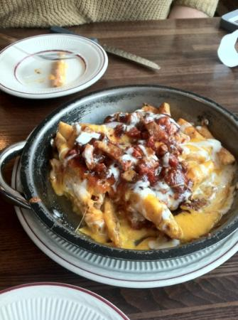 J & R's Smokehouse Incorporated: loaded smothered fry's
