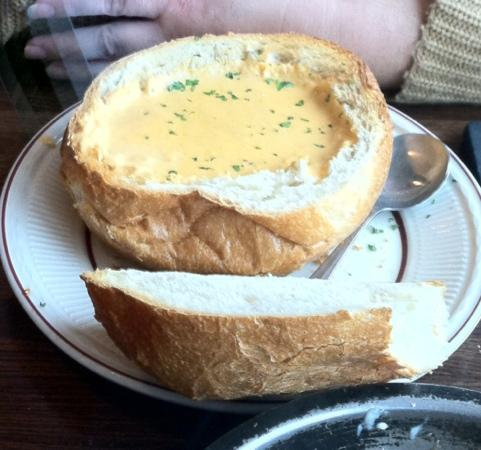 J & R's Smokehouse Incorporated: lobster bisque bread bowl