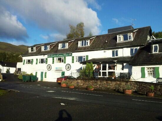 Clachan cottage hotel. Scotland