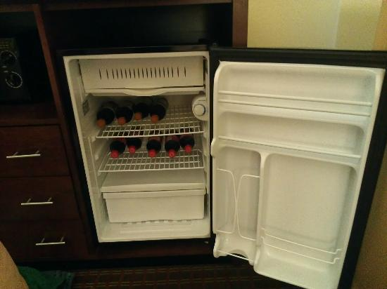 Comfort Inn: Fridge but tiny freezer area
