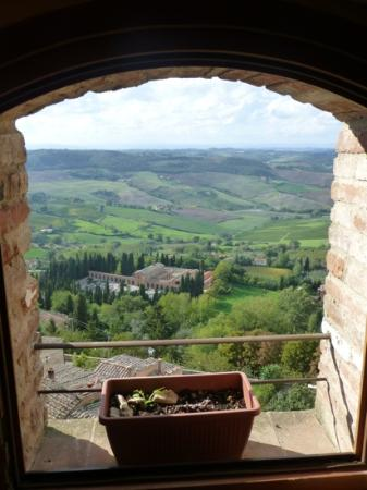 Osteria del Borgo: view from the room