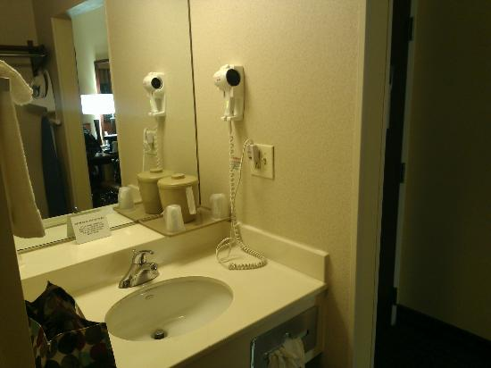 Comfort Inn : Clean bathroom