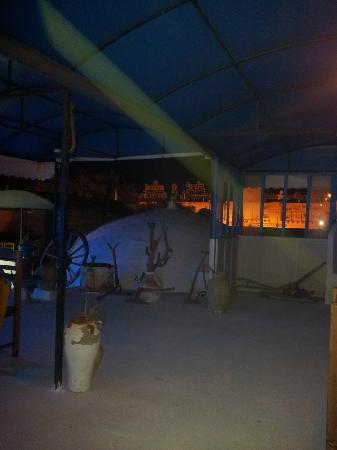 Sidi Bou Said : Ein wunderschönes Restaurant auf einer Dachterrasse. Schön gestaltetes Ambiente.