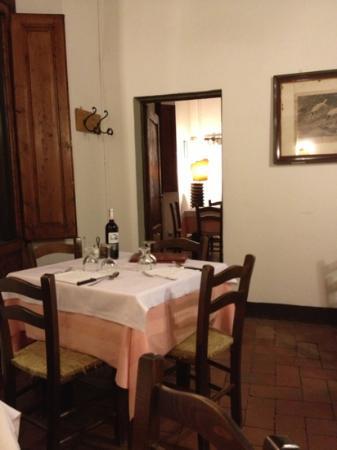 Taverna Del Guerrino : la prima sala