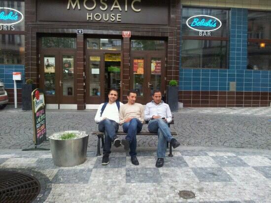 Mosaic House: très bel hotel .