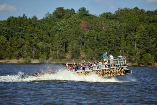 Wildthing Jetboat Tours - Day Tours: Where did they go?