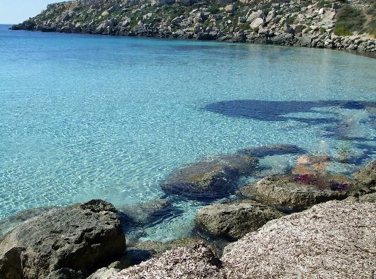 Egadi Islands: Cala Azzurra, Isola di Favignana
