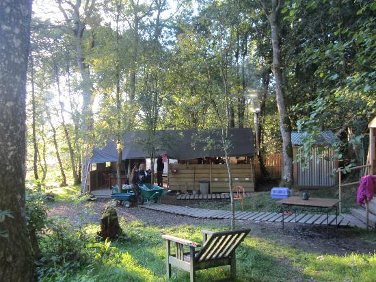 Cosy Under Canvas: Camp kitchen