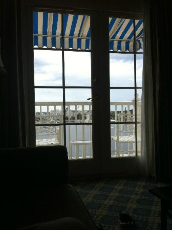 Disney's BoardWalk Inn: my view while napping one day....