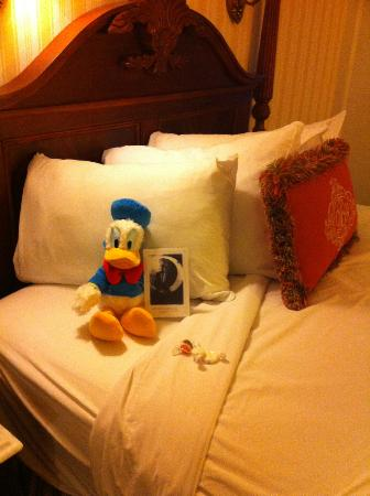 Disney's BoardWalk Inn: Turndown service