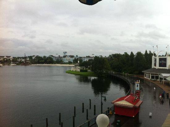 Disney's BoardWalk Inn: Our view!