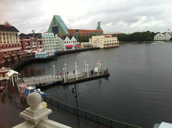 Disney's BoardWalk Inn: more of our amazing view