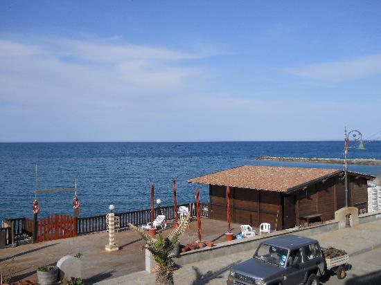 Hotel Nettuno: vista del balneario propio del Nettuno