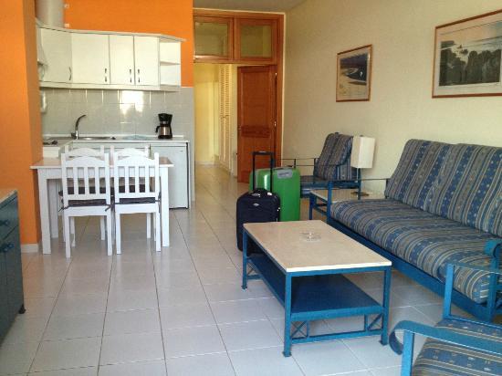 Apartmentos Morasol: ingresso