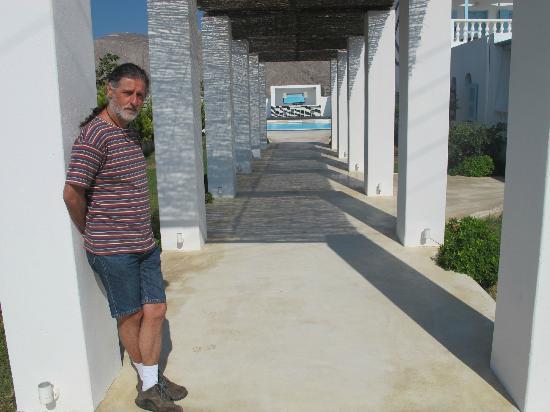 Villa Markezinis: Entrada