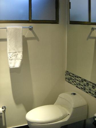 Hotel Confort 80: Vista del baño
