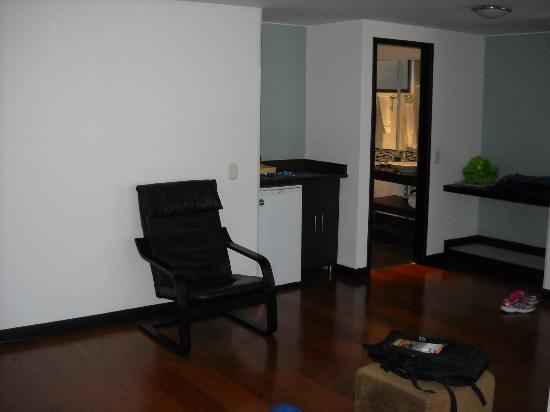 Hotel Confort 80: Vista de la habitación