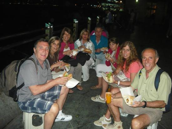 Road Runner Travel - Day Tours: Istanbul, fish sandwich at Eminonu
